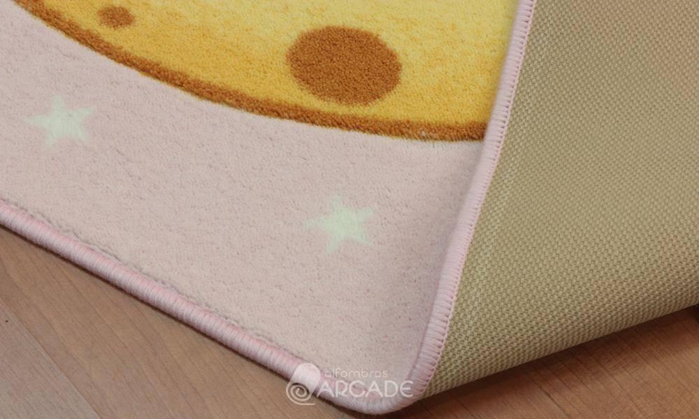 Alfombras arcade alfombra infantil moom rosa alfombras arcade - Alfombra infantil rosa ...