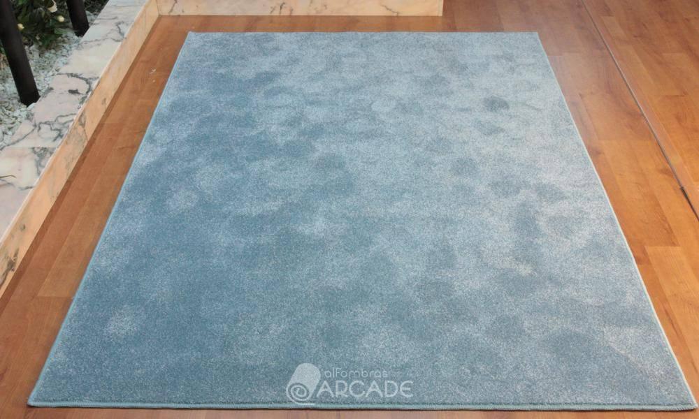 Alfombras arcade alfombra efecto seda azul - Alfombras kp efecto seda ...