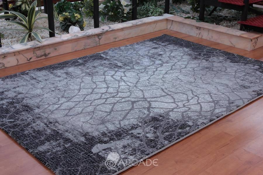 Alfombras arcade alfombra moderna domo 251 gris alfombras arcade - Alfombras pasillo modernas ...