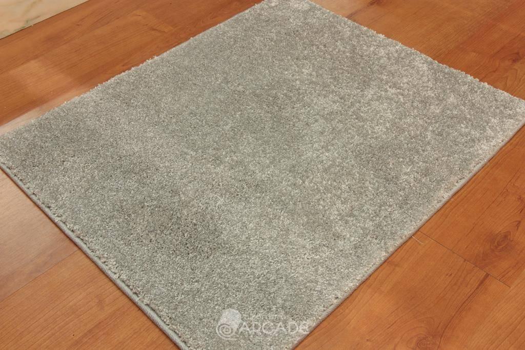 Alfombras arcade alfombra efecto seda 2 plata - Alfombras kp efecto seda ...