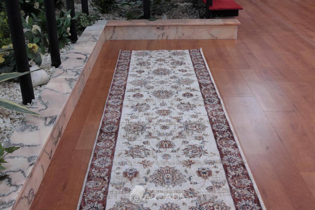 Alfombras arcade alfombra de pasillo lisa classic beig - Alfombras pasillo ...